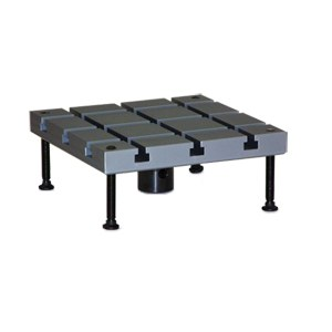 Quadratische Aufspannplatte SZ36T-250 mm – Al