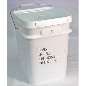 Aluminium-Oxyd-Granulat S-41, 50 Pound im Behälter