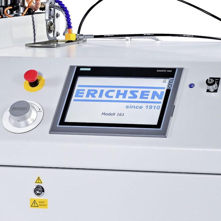 Bulge-/FLC-Tester Modell 161 Front panel