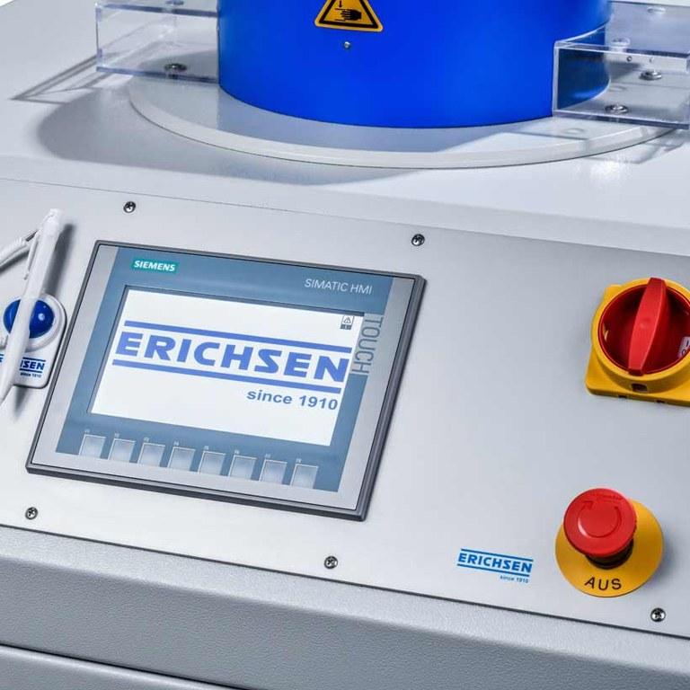 Universal sheet metal testing machine model 142-20 Basic Touchpanel