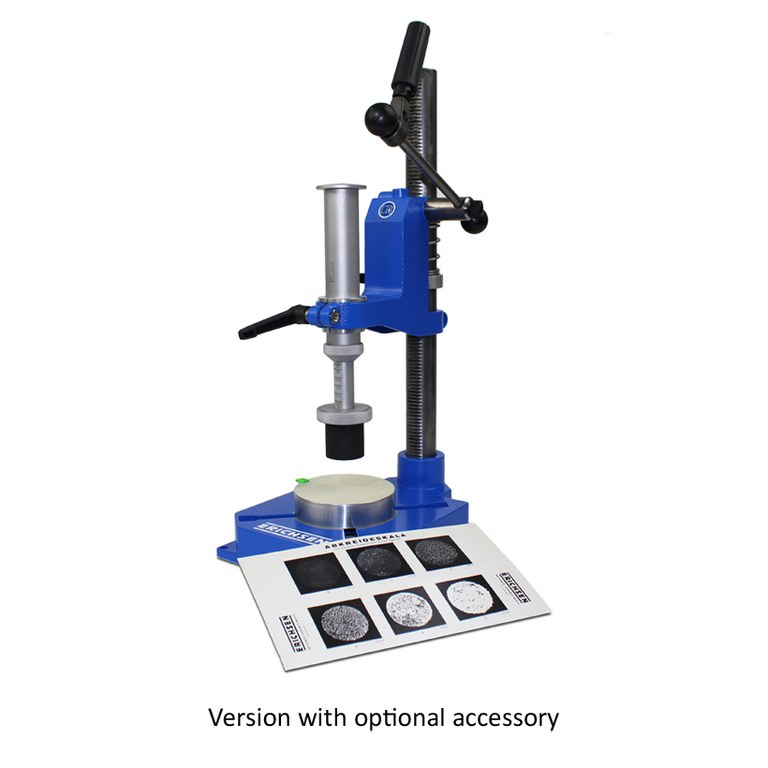 Chalking rate tester model 241 stand and chalk test scale