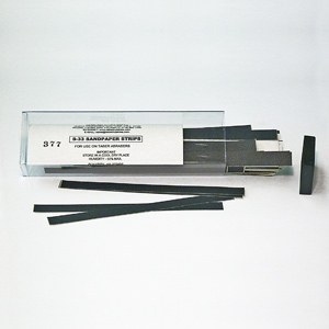 Sandpaper strips S-33, per 100 pcs