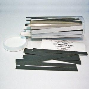 Sandpaper strips S-33, per 500 pcs