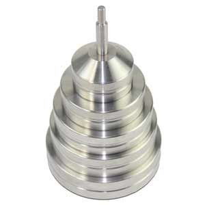 Set of weights for low load range (6 pcs.)