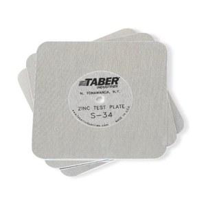 Standardization plates S-34, material: zinc, per 5 pcs