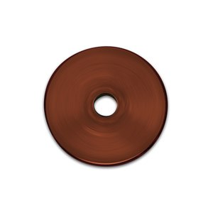Test disc made of copper  (Ø 16 mm, R 0,5 mm)