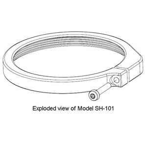 Specimen hold-down ring 'A' SH-101