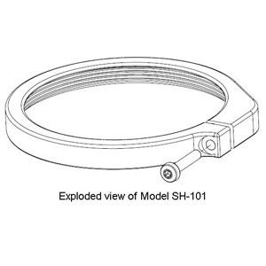 Specimen hold-down ring 'B' SH-102