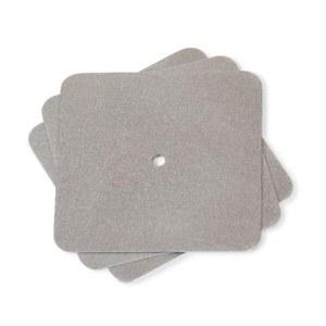 Specimen plates S-16, material: steel