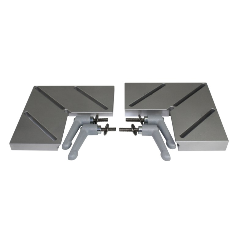Additional clamping pieces with quick release