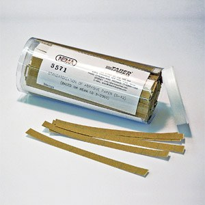 Sandpaper strips S-42, per 500 pcs